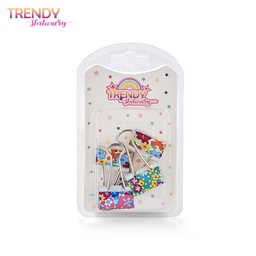 Distribuidor Mayorista Sujeta Papel Blister x 4 Trendy