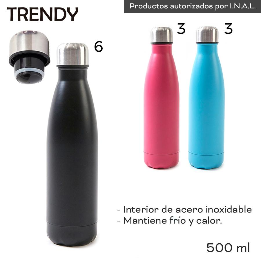 Distribuidor Mayorista Botella Termo Frio/ Calor Trendy